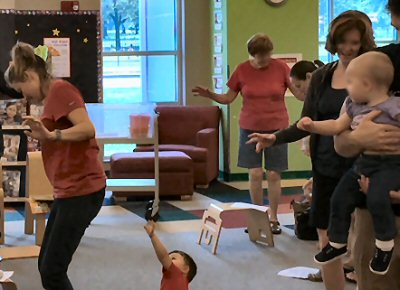 All-ages Storytime at Walt Branch Library