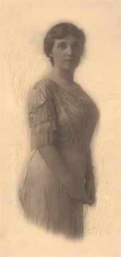 Lillian as a young woman