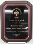Better Business Bureau Resource Award Plaque