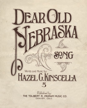 Dear Old Nebraska: Song