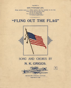 Fling Out The Flag: Song and Chorus, Op. 209