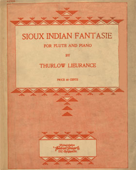 Sioux Indian Fantasie: for flute and piano