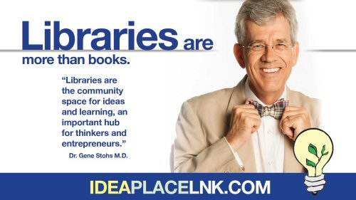 Libraries are more than books: Dr. Gene Stohs, M.D.