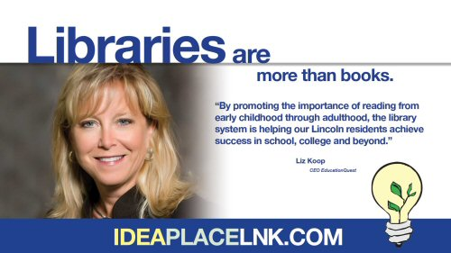 Libraries are more than books: Liz Koop, CEO EducationQuest