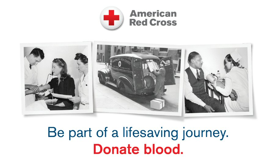 American Red Cross: Be part of a lifesaving journey. Donate blood.