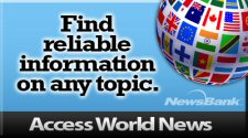 Access World News: Find reliable information on any topic.