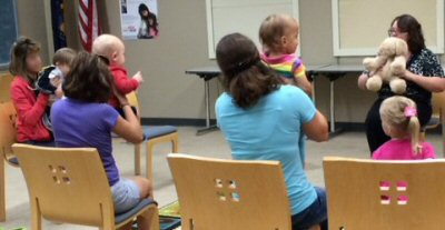 Baby Storytime at Walt