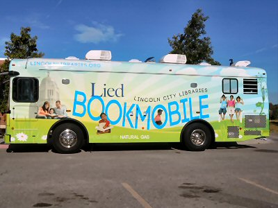 photo of Lied Bookmobile