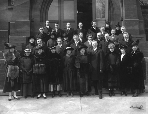 University School of Music faculty, 1916