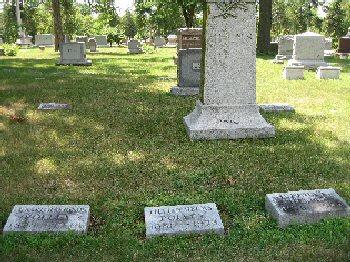Lillian's grave in Wyuka Cemetery
