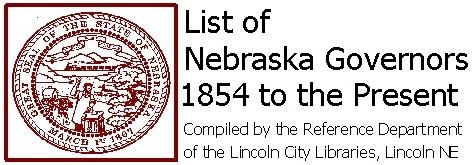 Nebraska Governor's Logo