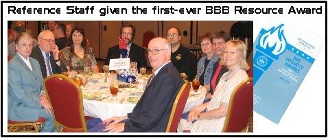 Better Business Bureau Award - 2005