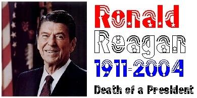 Ronald Reagan banner