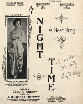 At Night Time: A Heart Song