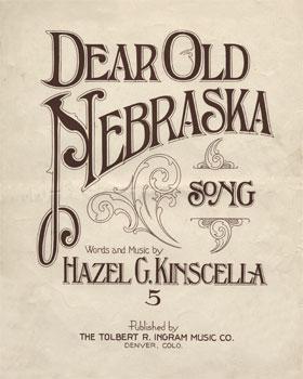 Dear Old Nebraska: Song