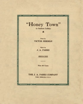 Honey Town: a southern lullaby