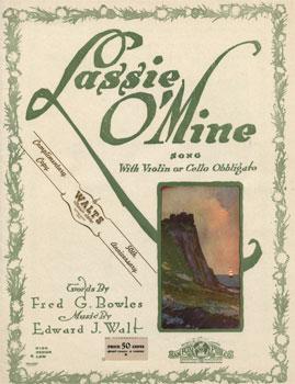 Lassie o' Mine: Song with violin or cello obbligato
