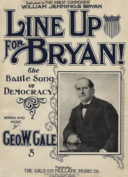 Line Up for Bryan: The Battle song of Democracy