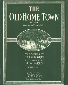 Old Home Town: song for medium voice