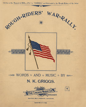Rough-Riders' War-Rally