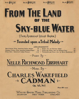 From the Land of the Sky-Blue Water, Op. 45, No. 1