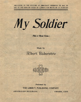 My Soldier: Male or Mixed Voices