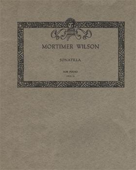 Sonatilla: For Piano, Op. 52