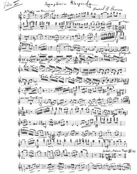 Symphonic Rhapsody