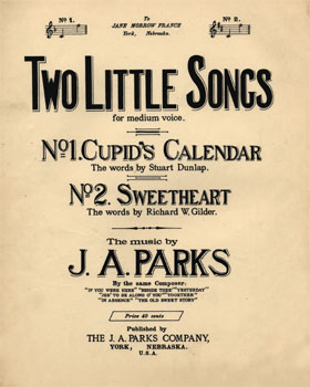 Two Little Songs: for medium voice