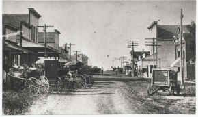 photo: Main Street, Eagle Nebraska, 1908