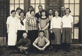 Photo: Junior Class, Eagle High School, 1923