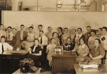 Photo: Nebraska Writers Project workers