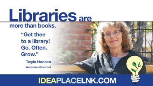 Libraries are more than books: Twyla Hansen, Nebraska State Poet
