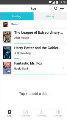 Beanstack app screenshot