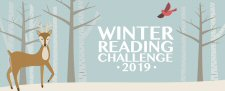 Winter Reading Challenge 2019 logo