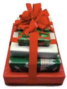 photo of gift wrapped presents
