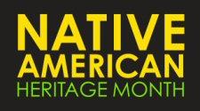 Native American Heritage Month logo