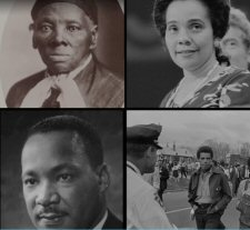 """screenshot from the """"Black Freedom Struggle"""" site"""