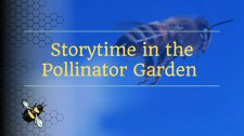 Storytime in the Pollinator Garden